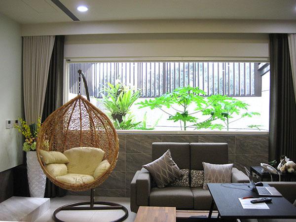 新竹別墅客廳