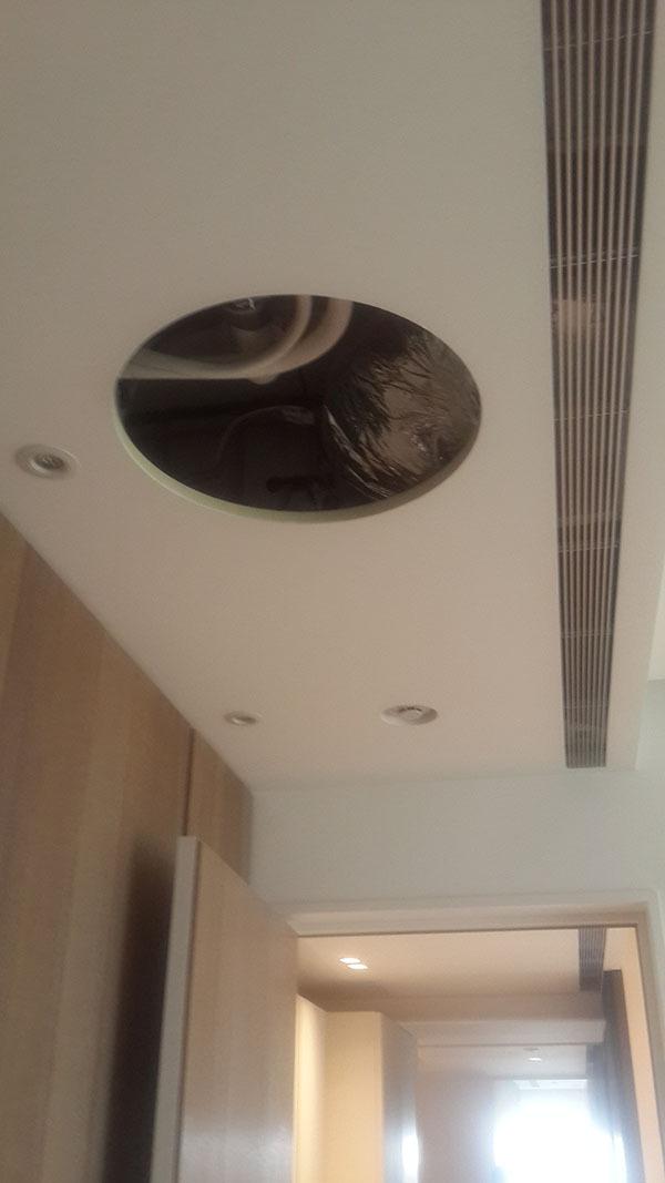 維修孔形狀變化(配合照明燈座)
